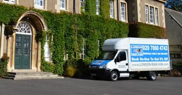 Removals Bow Church, Van and Driver