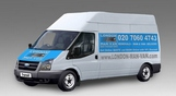 Hire Large Van and Man Cambridge Heath - Price and Size