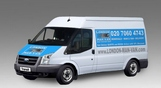 Hire Medium Van and Man Abbots Langley - Price and Size
