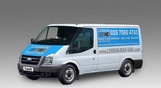 Hire Small Van and Man Oval - Price and Size
