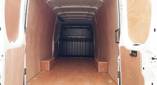 Extra Large Van and Man Hire Bloomsbury - Inside View