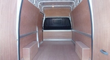 Hire Large Van and Man Cambridge Heath - Inside View
