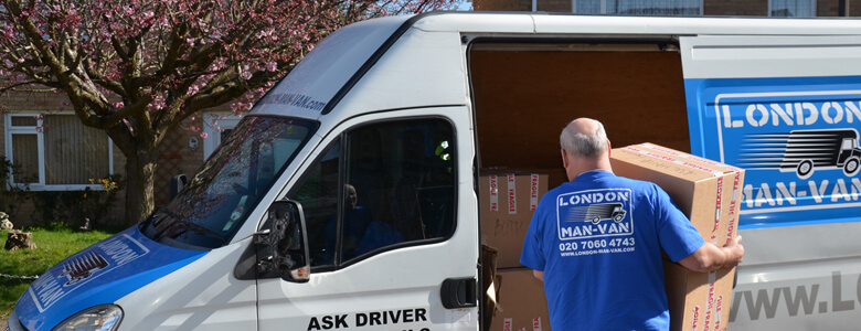 Removals Man and Van - Loading and Unloading