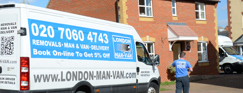 Man Van Service Isle of Dogs - E14