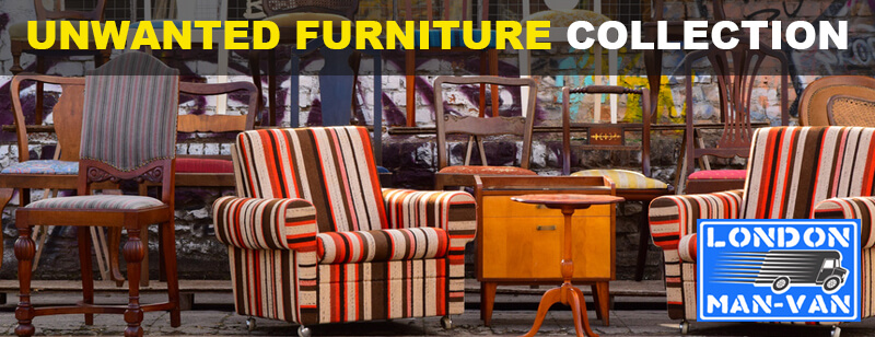 We collect unwanted furniture in Aldgate