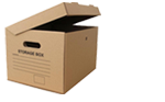 Buy Archive Cardboard  Boxes - Moving Office Boxes in White Hartlane