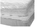Buy Double Mattress cover - Plastic / Polythene   in White Hartlane