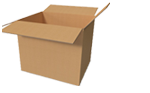 Buy Large Cardboard Boxes - Moving Double Wall Boxes in White Hartlane