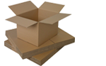 Buy Medium Cardboard  Boxes - Moving Double Wall Boxes in Wood Green