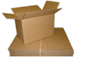 Buy Small Cardboard Boxes - Moving Double Wall Boxes in Burnt Oak