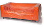 Buy Three Seat Sofa cover - Plastic / Polythene   in Oval