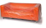 Buy Three Seat Sofa cover - Plastic / Polythene   in Tottenham Court Road
