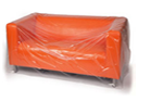 Buy Two Seat Sofa cover - Plastic / Polythene   in Poplar