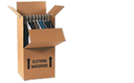 Buy Wardrobe Box with hanging rail in Blackhorse
