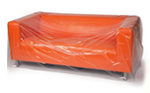 Buy Three Seat Sofa cover - Plastic / Polythene   in Aldgate