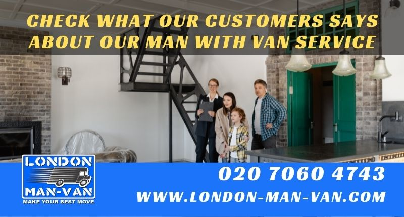 Prices are so good for a great man van service
