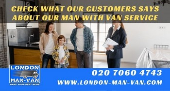 Review on Man with a Van within Southwark