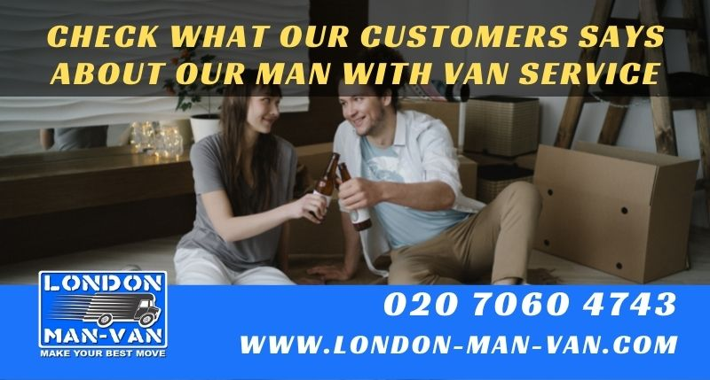 A quick and efficient service provided by London Man Van