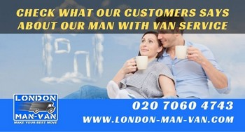 Great man and van service, really helpful driver and a good price