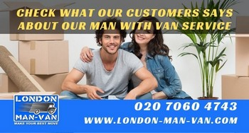 Review on Man and Van from Roman Road E3 to Roman Road E3