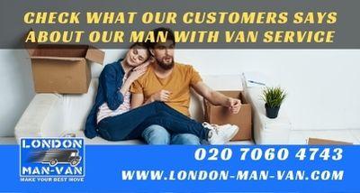 London Man Van saved the moving day