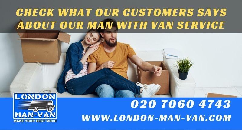 Excellent service by London Man Van