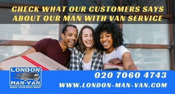 Great staff and overall service with London Man Van
