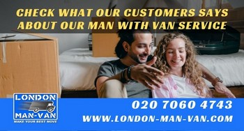 London Man Van crew did a great work and were very careful