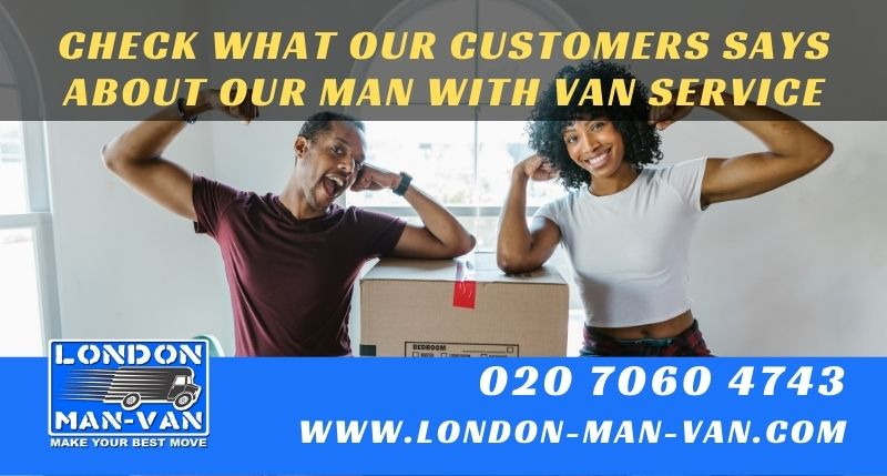 Perfect service with London Man Van