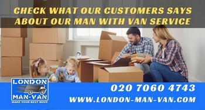 London Man Van did the job swiftly