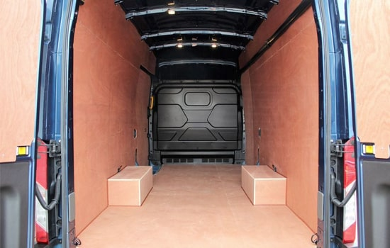 Extra Large Van and Man Hire Isleworth - Inside View