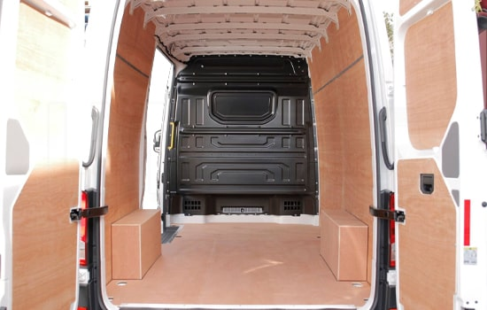 Large Van and Man Hire Enfield Chase - Inside View